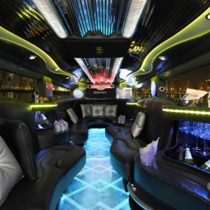 The Black Hummer Interior 03
