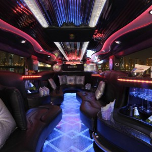 The Black Hummer Interior 02