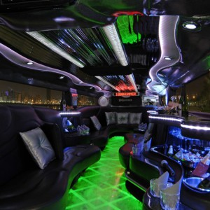 The Black Hummer Interior 01