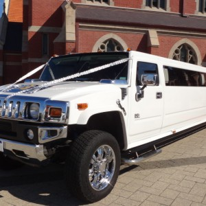 The White Hummer Limo