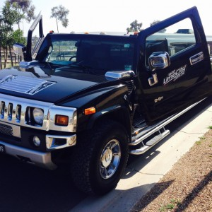 The Black Hummer Exterior